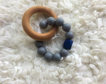 Silicone baby teethers