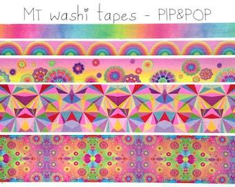 MT Factory Tour 2014 Pip&Pop Washi Tape SET Japanese MT Masking Tape
