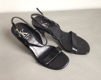 Vintage Celvin Klein 90s strap sandals