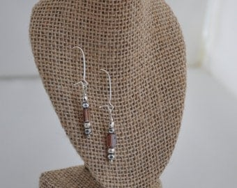 Handmade Beaded Dangle Earrings