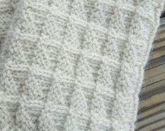 Hand knitted Boot cuffs Leg Warmers
