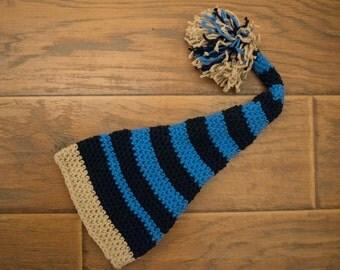 Newborn Elf Crochet Hat