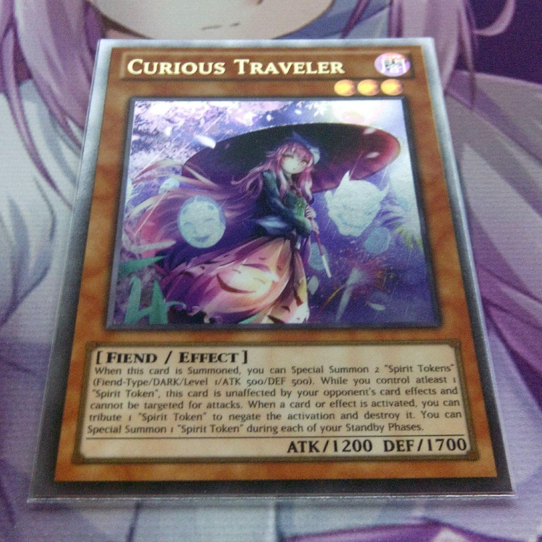 curious traveler ultra rare orica proxy fanmade yugioh