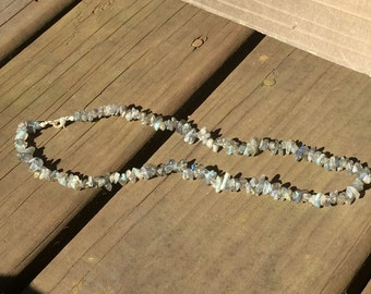 Labradorite necklace, charged with healing energy