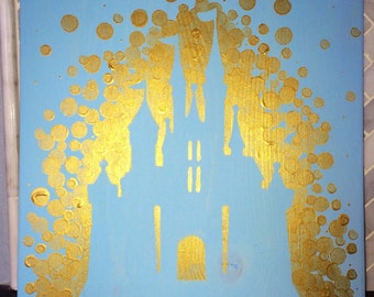 Princess Castle Painting//Princess Room//Disney Room