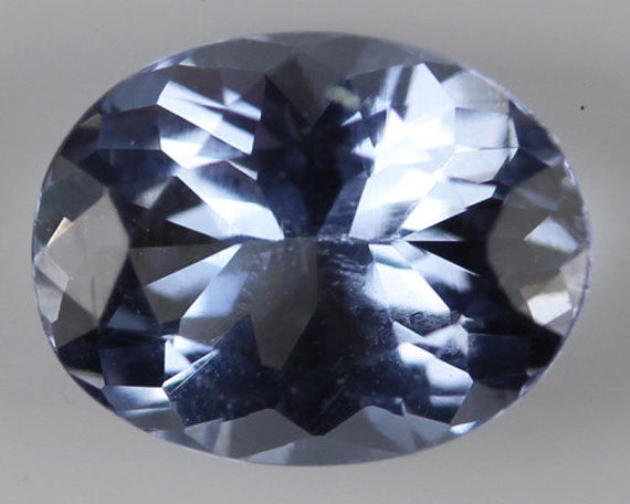 maxixe blue beryl oval cut gemstone 1 40cts oval cut 8 30 x
