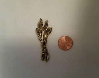 Vintage Wheat Brooch/Pin