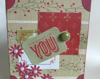 Itsy Bitsy: Thinking of You card