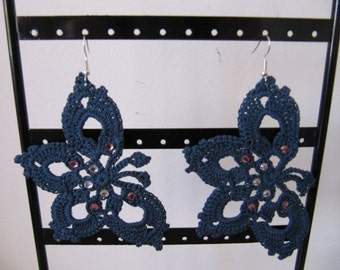 "Earrings ""Butterfly"""