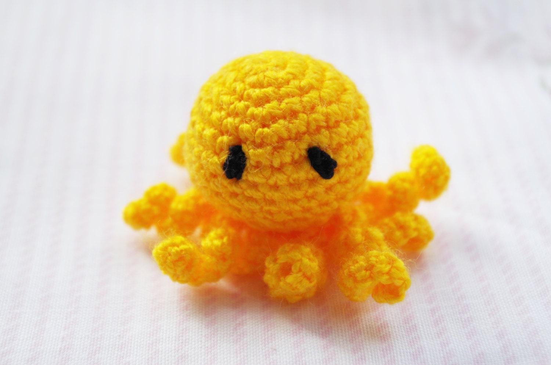 Octopus Amigurumi Plush : Crochet Octopus amigurumi toy stuffed toy plush Octopus toy