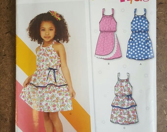 New Look 6222 Child's Size A ages 3-8 Sun Dress Pattern