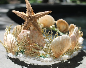 Starfish Mermaid Crown