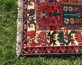 Vintage Persian Rug, Trib...