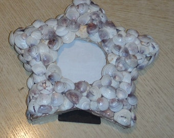 Star Seashell Picture Frame from the Gulf of Mexico