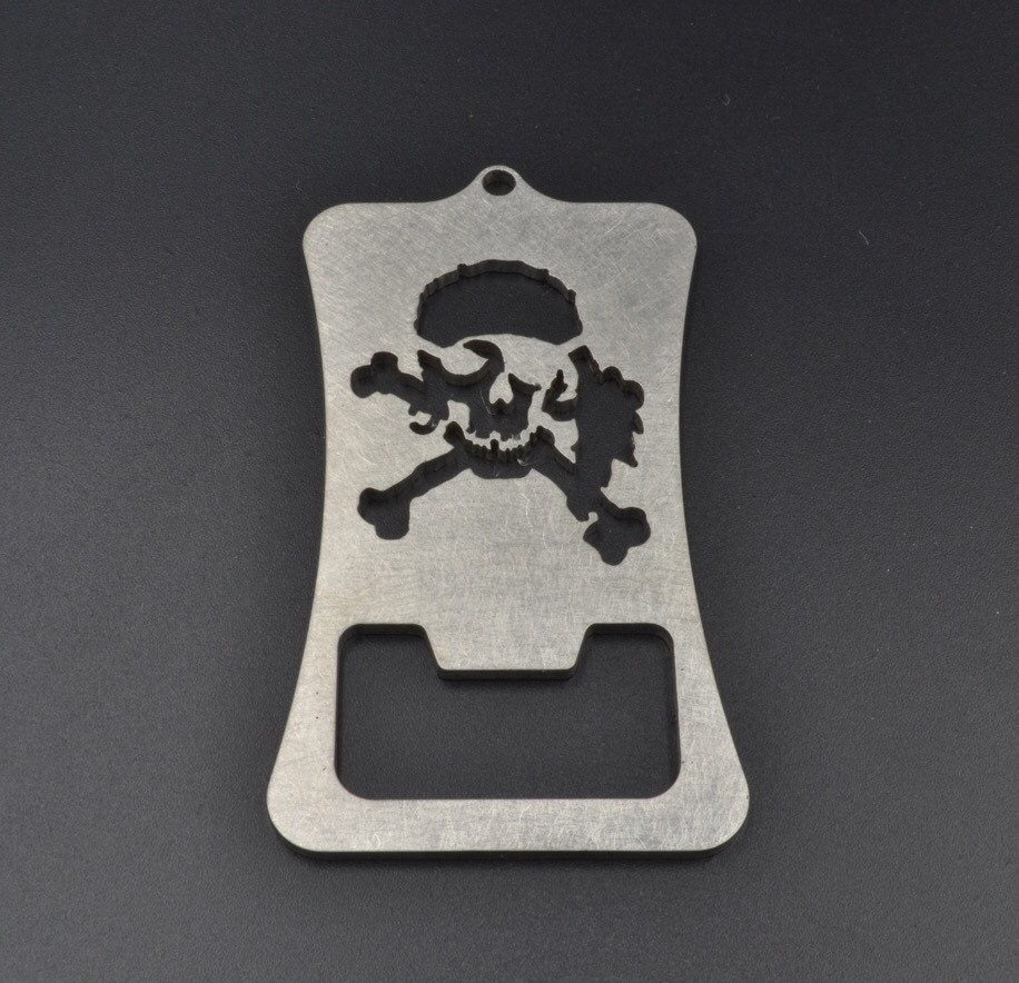 pirate skull retractable bottle opener bar accessories. Black Bedroom Furniture Sets. Home Design Ideas