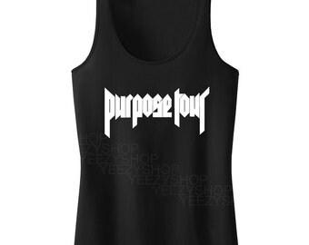 Justin Bieber Purpose Tour Tanktop