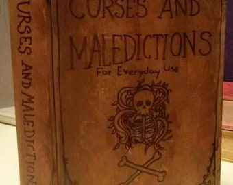 Curses and Maledictions, blank book