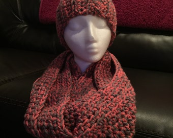 Matching Adult Size Winter Headband & Scarf