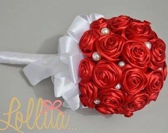 Wedding Bouquet Red