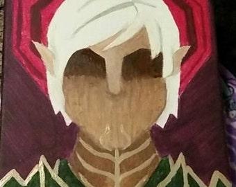 Custom Dragon Age Keep Painting