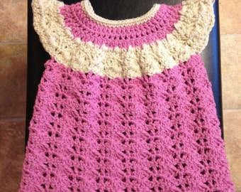 Hand Made Crocheted Dress