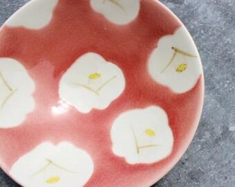 Camellia Japonica Cup coral