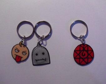 Fullmetal Alchemist Charm Keychains