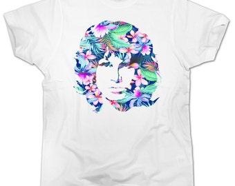 T-shirt JIM MORRISON FLOWER