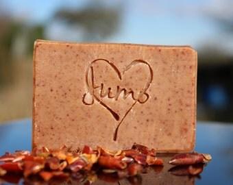Rosehip natural soap