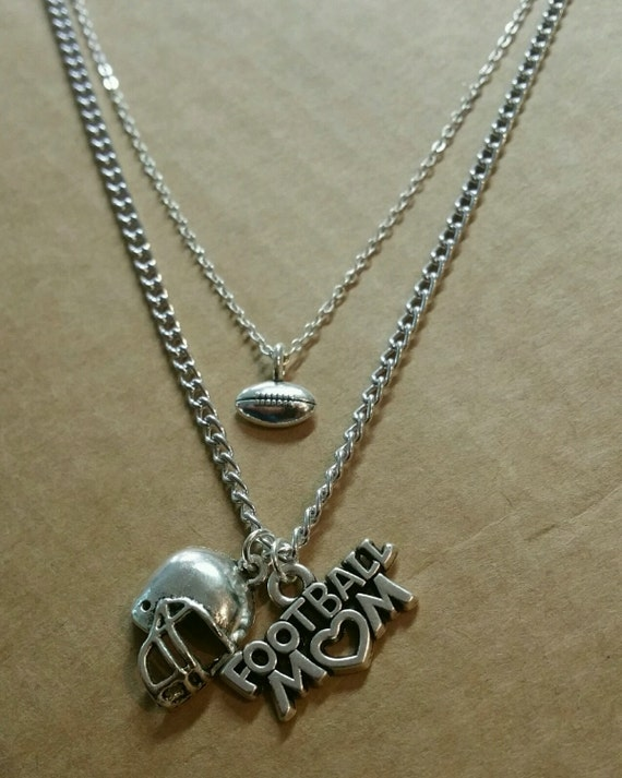 Football Mom Layered Necklace