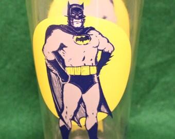 Vintage 1970's Pepsi Batman Collector Series Glass