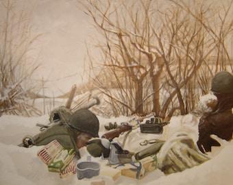 Bastogne Outpost December 1944