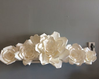Paper Flower clouds