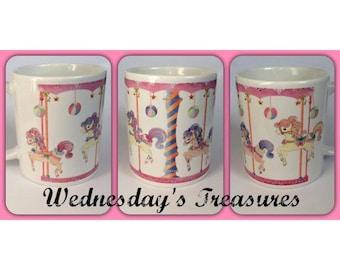 Pretty Ponies Carousel Mug