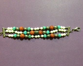 Multistrand Beaded Bracelet