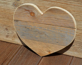 Small wooden heart