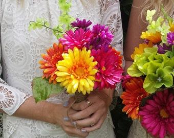 Summer Love bridesmaid bouquet