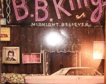 B. B. King - Midnight Believer AA-1061 Vinyl Record LP 1978