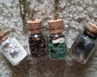 Elemental Kinesis Necklaces