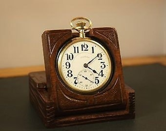 "Beautiful Illinois Watch Co. ""Bunn Special"" Railroad Pocket watch circa 1922 in 10 ct gold filled case"