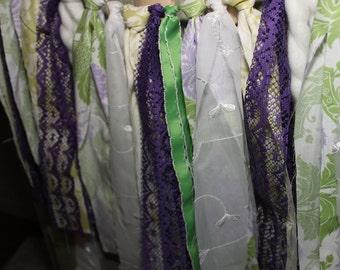 Flower Cloth Banner