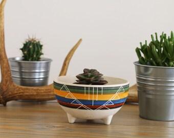 Aztec Planter Bowl