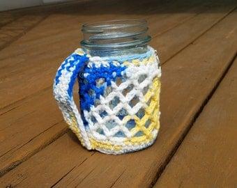 Seaside Mason Jar Cozy