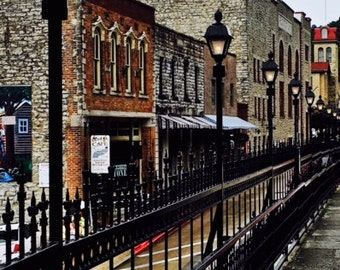 Street Photography, Old Buildings, Downtown, Wall Art, Digital Download
