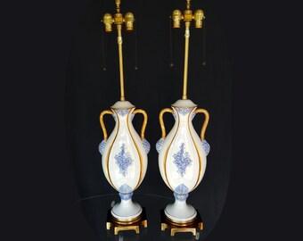 Vintage Marbro Ceramic Portable Lamp