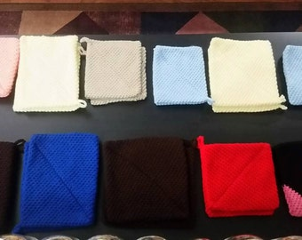 Thick Crochet Pot Holders