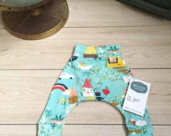 Organic newborn leggings