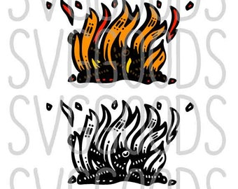 Campfire svg, fire svg, Camping svg, Camp svg, Summer svg, Scout svg, bonfire svg, cut file svg, camp fire svg, vector, cut file, cricut