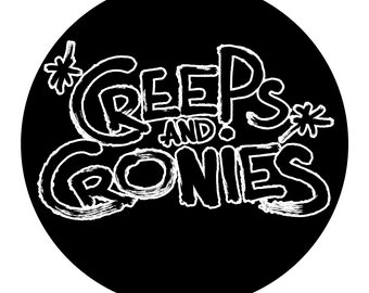 Creeps and Cronies Vinyl Decal