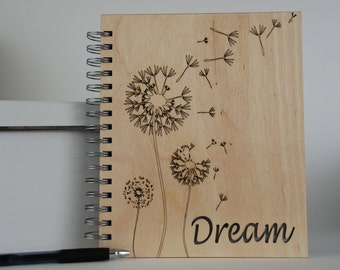 Wood Spiral Journal... Dream